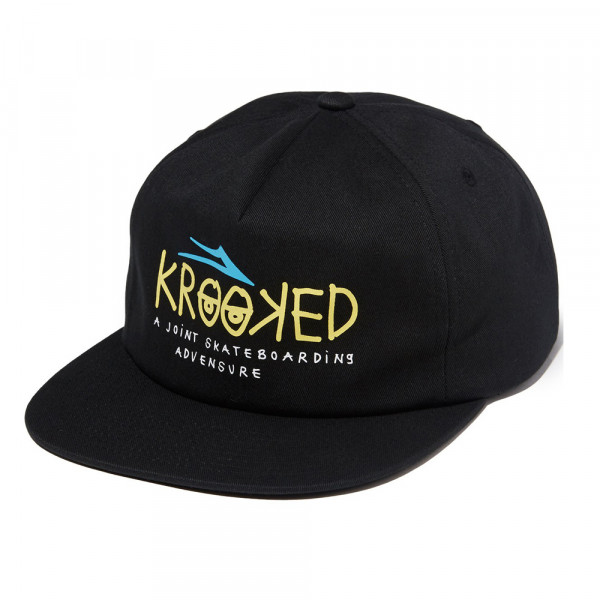 Lakai Cap Krooked Relaxed Fit - black