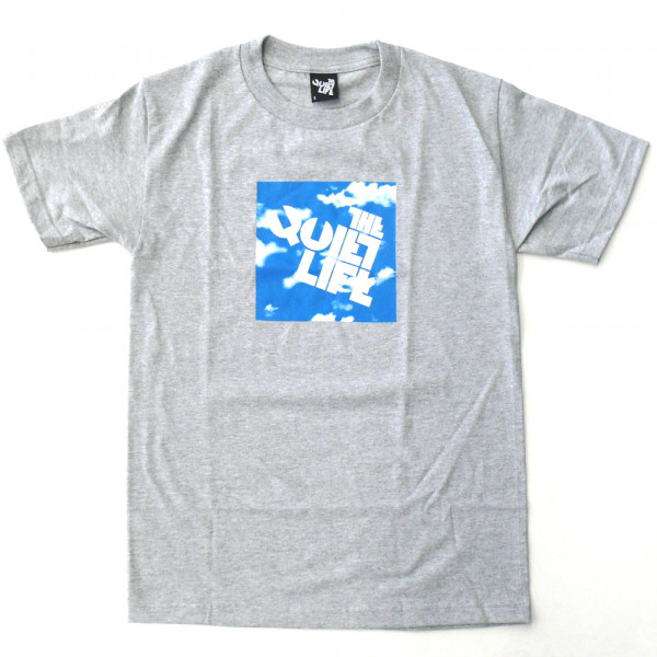 The Quiet Life T-Shirt Clouds Block Tee - heather grey