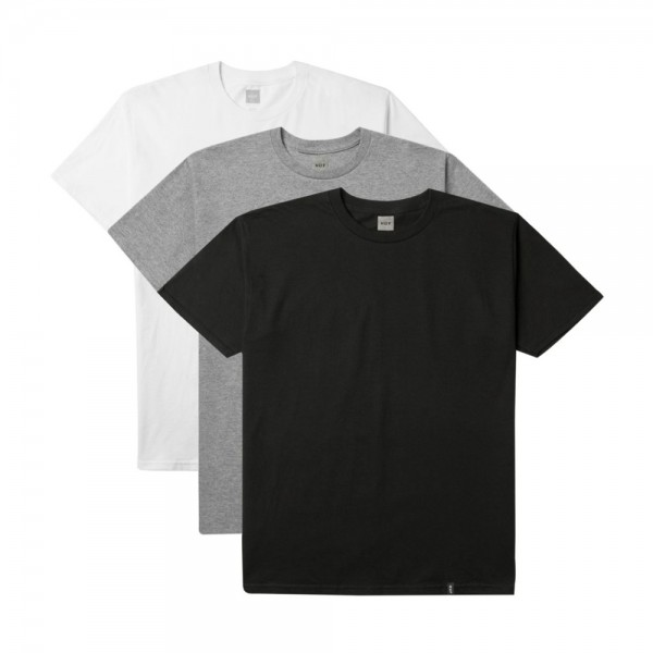 HUF T-Shirt 3 Pack - assorted