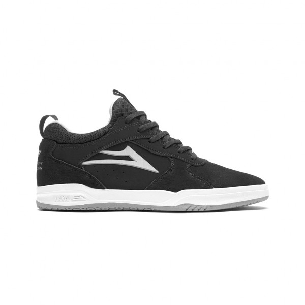 Lakai Proto Schuhe black/light grey suede