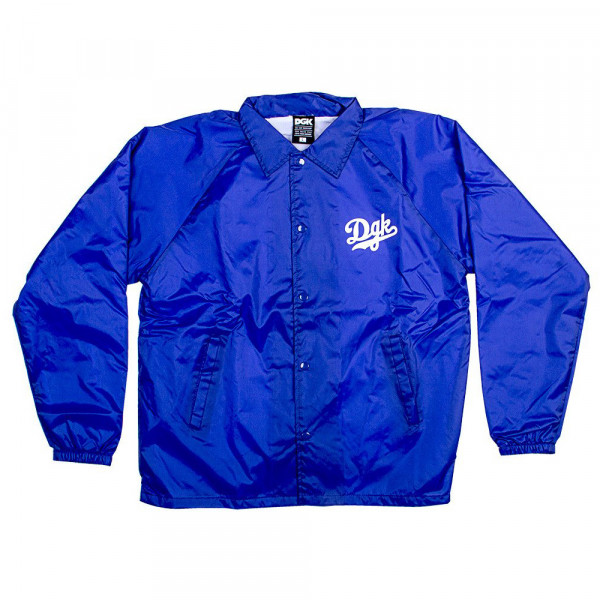 DGK Skateboards Jacket Dreamers Coaches - blue