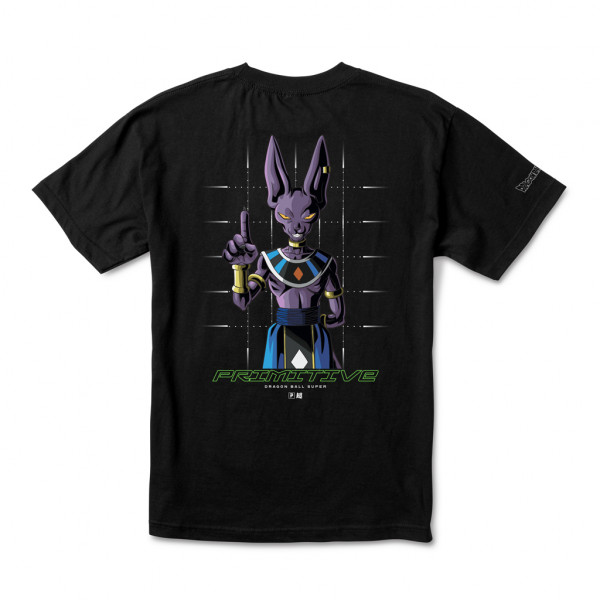Primitive Shadow Beerus T-Shirt black