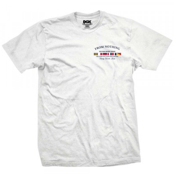 DGK Skateboards T-Shirt Nautical - white