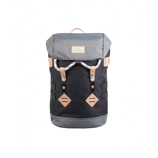 Doughnut Colorado Small Rucksack - black x grey