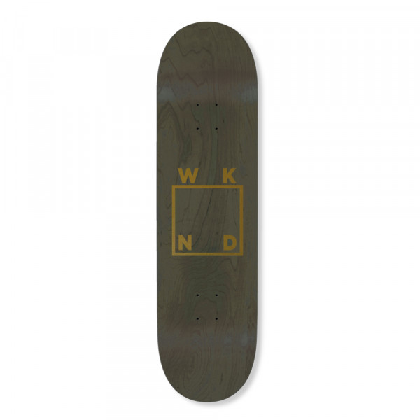 WKND Skateboards Deck Gold Logo - 8.25