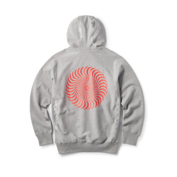 FTC Spitfire Hoodie - athletic heather gray