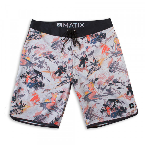 MATIX Hose Atomic Boardshort - natural
