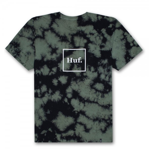 HUF T-Shirt Domestic Logo CW - deep olive