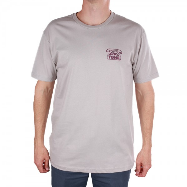 Dial Tone T-Shirt Chasing Tail - silver