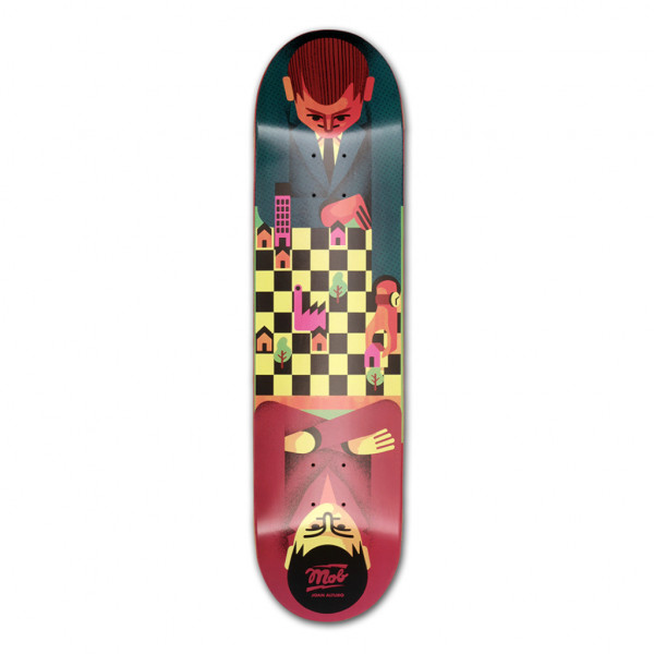 MOB Skateboards Chess Deck 8.125