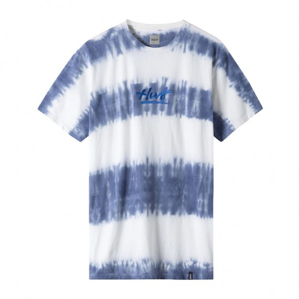 HUF High Tide Wash T-Shirt - blue