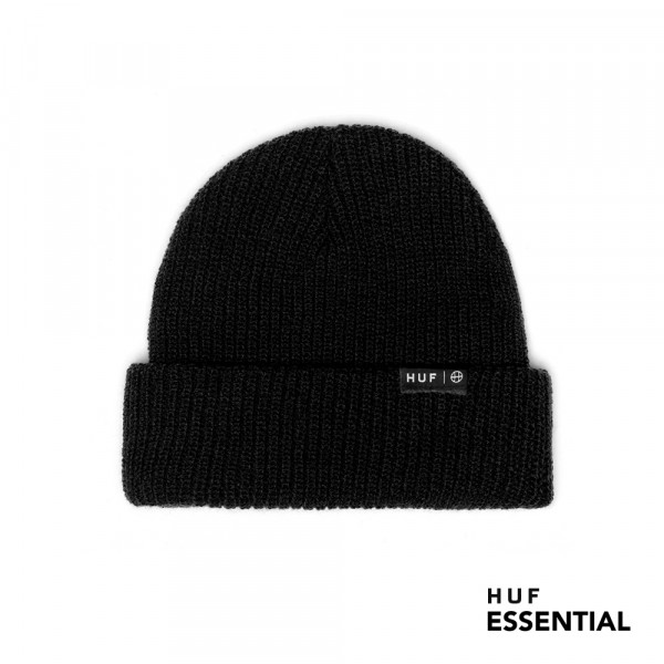 HUF Essentials Usual Wollm�tze black