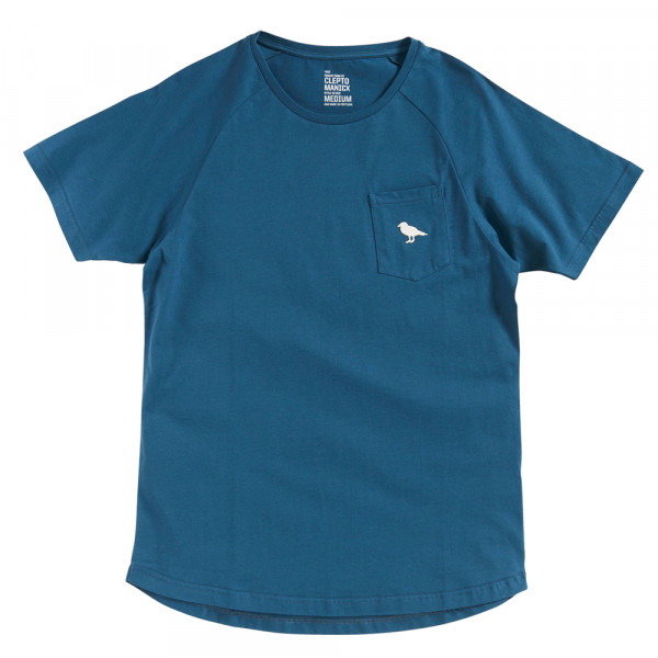 Cleptomanicx T-Shirt Team Mini Gull - mj blue
