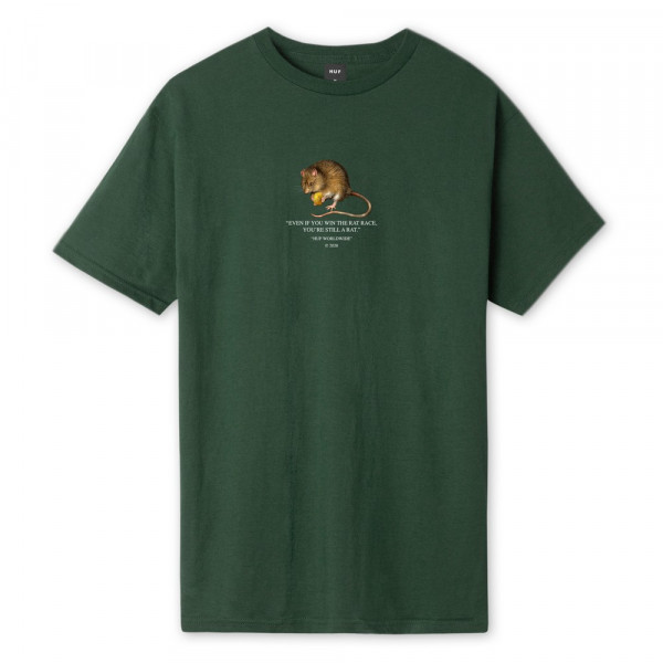 HUF Rat Race T-Shirt sycamore