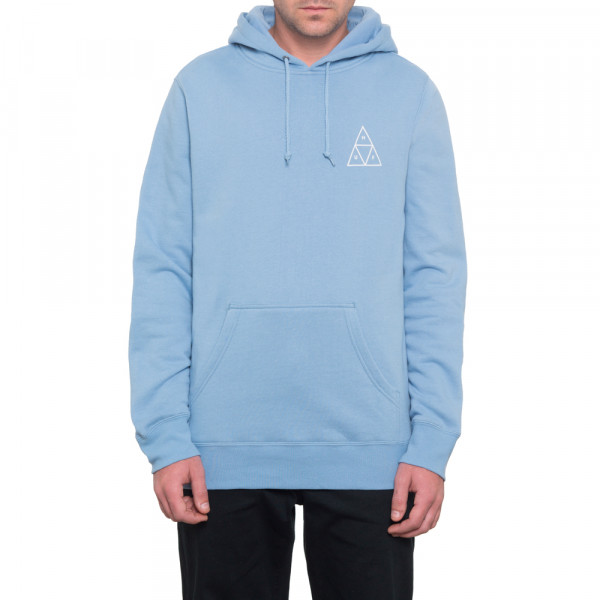 HUF Hoodie Essentials Triple Triangle - forever blue