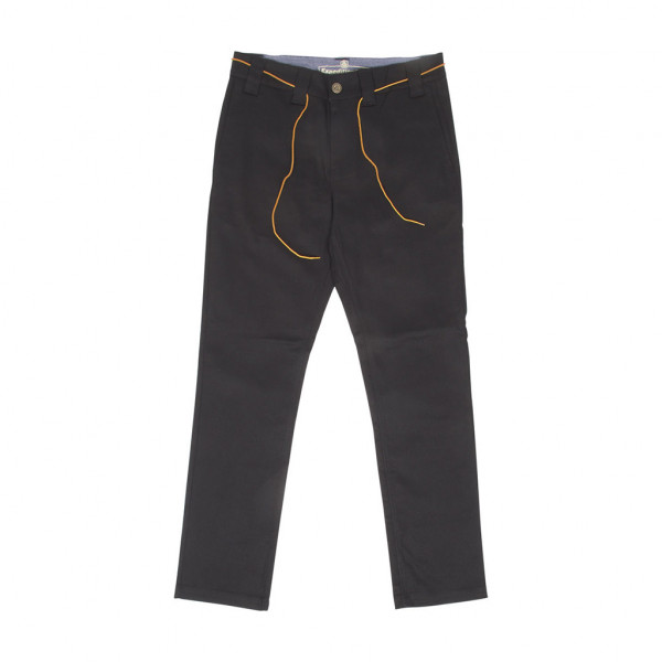 Expedition One Hose Drifter Slim Chino - black