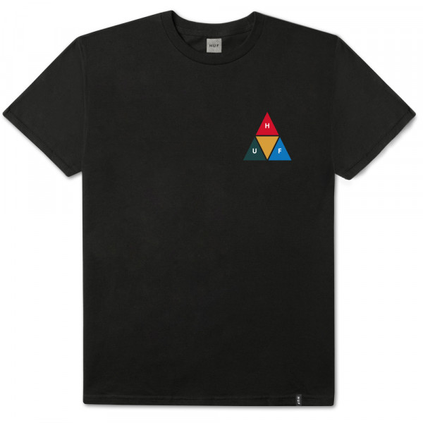 HUF T-Shirt Prism Triangle - black