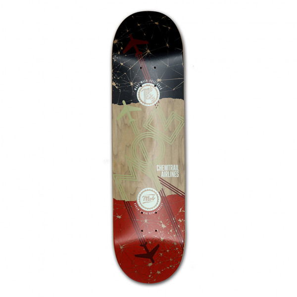 MOB Skateboards Airlines Deck 8.5