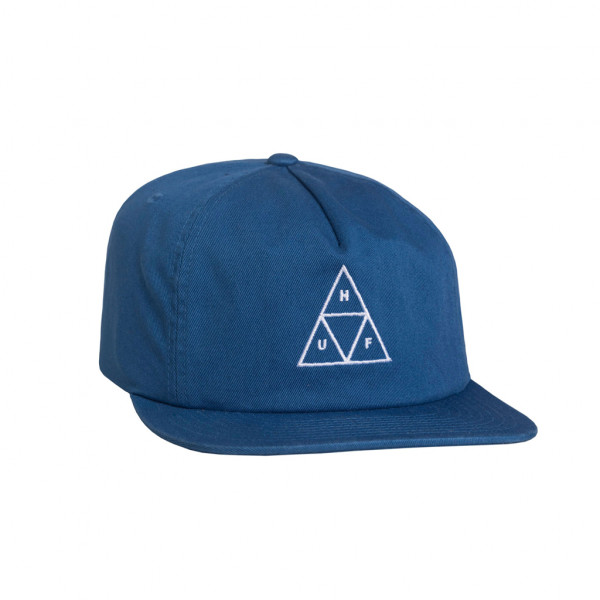 HUF Cap Wash Triple Triangle - blue