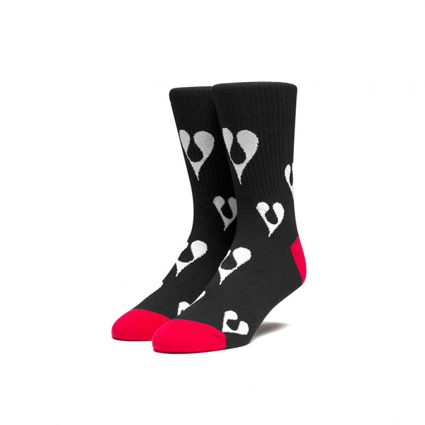 HUF Phil Frost Socken - black