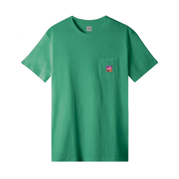 HUF Sedona Pocket T-Shirt - botanical green