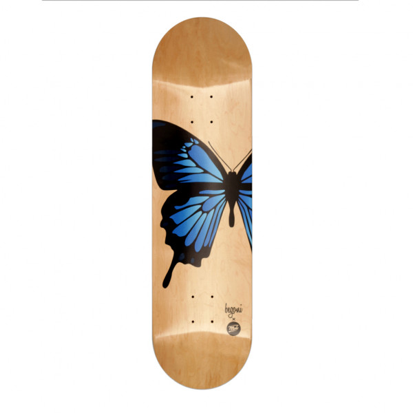 Begoni Boards Butterfly natural x blue Deck - 8.5