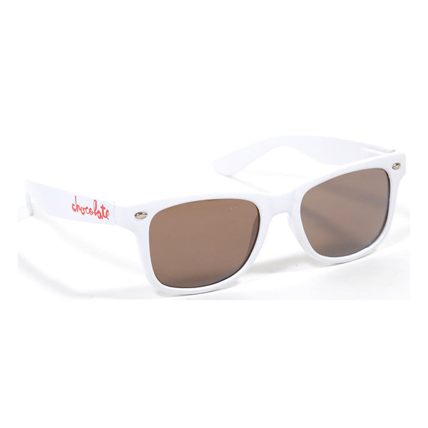 Chocolate Skateboards Sonnenbrille Chocolate Chunk - white