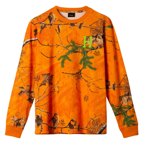 HUF Realtree Classic H Longsleeve realtree orange