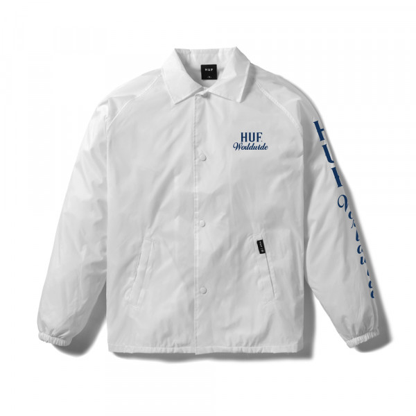 HUF Apparel Jacke Ultra Coaches - white