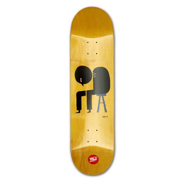 MOB Skateboards Lost Thought Deck - 8.25