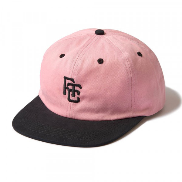 FTC Cap 6-Panel Field - pink black
