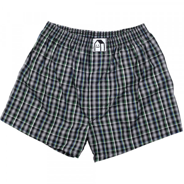 Lousy Livin Boxershorts Lousy Check - black forest