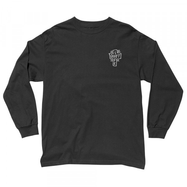 The Quiet Life Longsleeve Sharpie - black