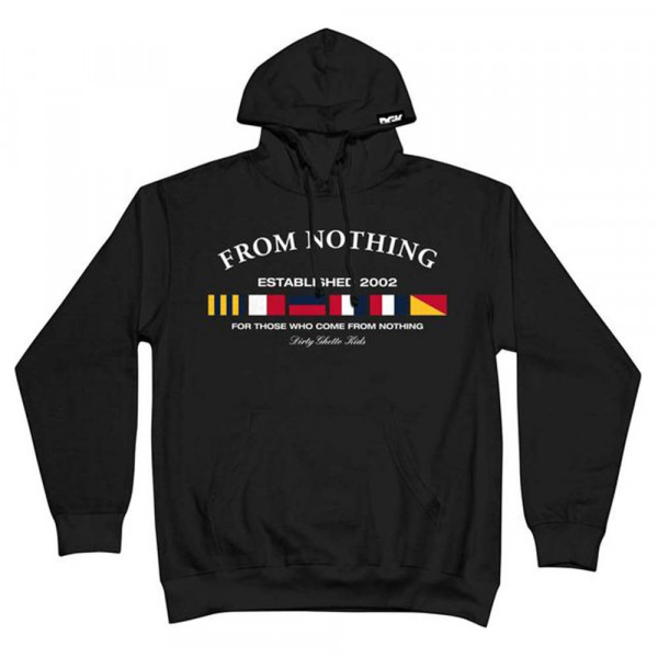 DGK Skateboards Hooded Sweatshirt Nautical Fleece - black