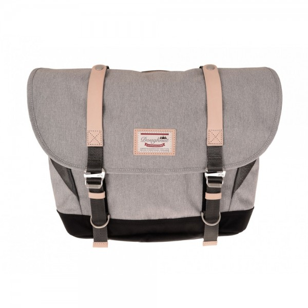 Doughnut Umhängetasche Denver Messenger - light grey x black