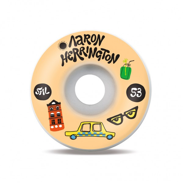 SML Wheels Spritzers - Aaron Herrington V-Cut 99a - 53mm