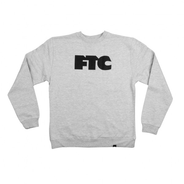 FTC Pullover OG Crew - atheltic heather