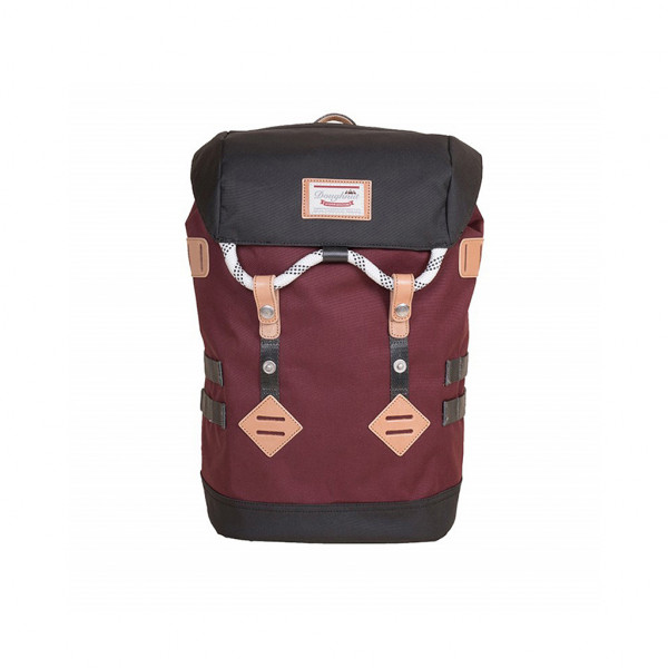 Doughnut Colorado Small Rucksack - wine x charcoal