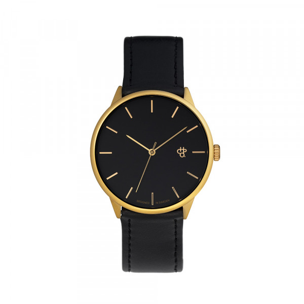 Uhr Khorshid Black Gold - black black vegan leather