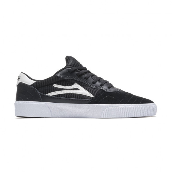 Lakai Cambridge Schuhe - black white suede