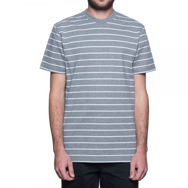 HUF T-Shirt Nevermind Knit Top - charcoal