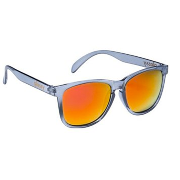 Glassy Sunhaters Sonnenbrille Deric - clear grey red mirror
