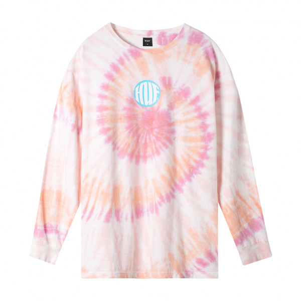 HUF High Definition Longsleeve coral pink