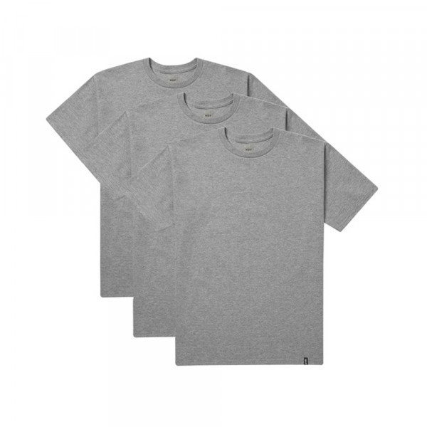 HUF T-Shirt 3 Pack - grey heather