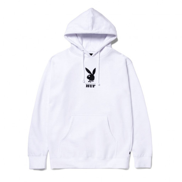 HUF Playboy May88 Cover Hoodie white