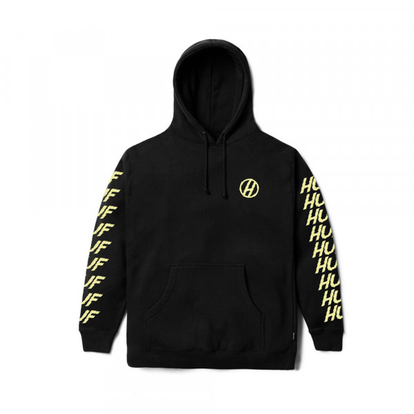 HUF Apparel Hooded Sweatshirt Shocker - black