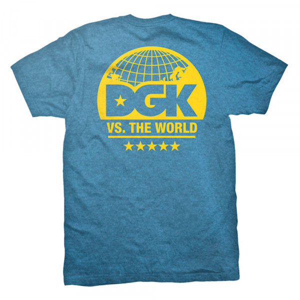 DGK Skateboards T-Shirt World Class Premium - royal heather
