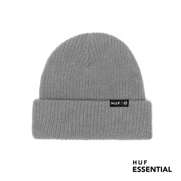 HUF Essentials Usual Wollm�tze grey heather