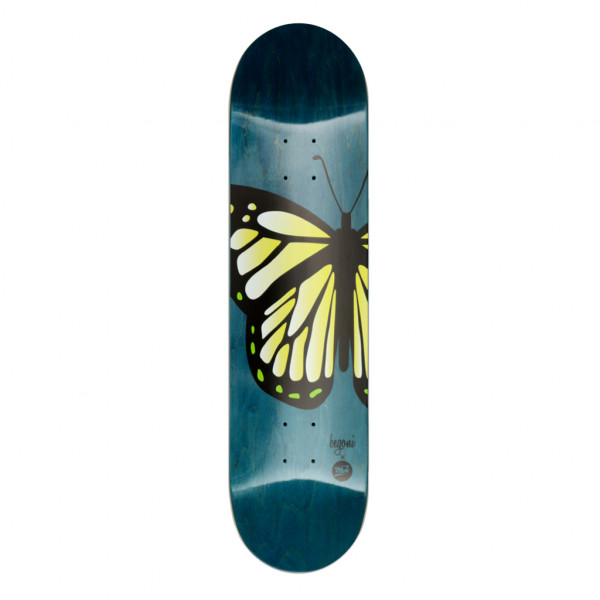 Begoni Boards Butterfly blue x yellow Deck - 8.0