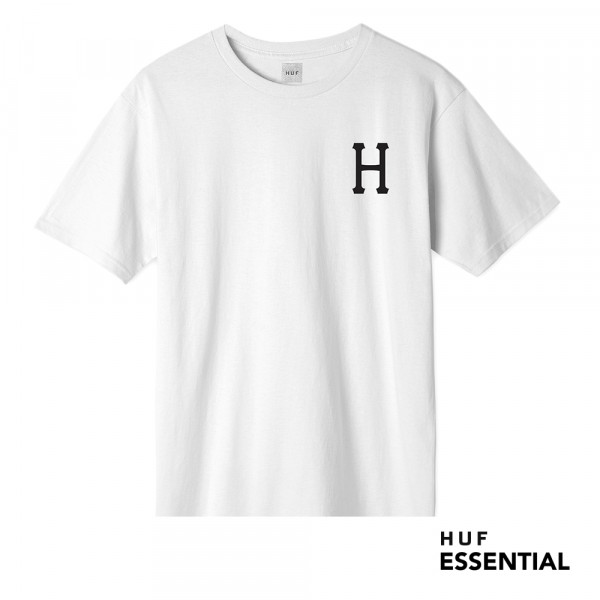 HUF Essentials Classic H T-Shirt white